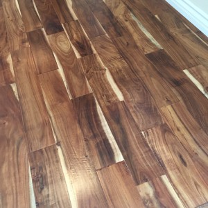 Wood floors with character