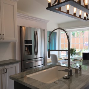 great finishes in this kitchen