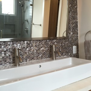 master bath - fabulous finishes throughout!